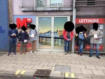 MTM-Kampagne Foto: SolFed Brighton 2017